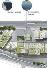 Seine Morée, plan de l'usine